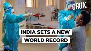 India Records World Highest Single-Day Rise In Covid-19 Cases - Download this Video in MP3, M4A, WEBM, MP4, 3GP