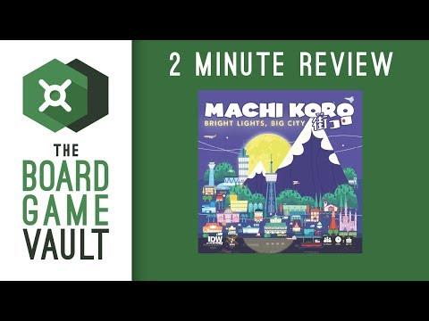 Machi Koro: Bright Lights, Big City - 2 Minute Review