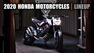 2020 Honda Motorcycles  |  Lineup