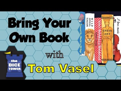 Bring Your Own Book Review - with Tom Vasel