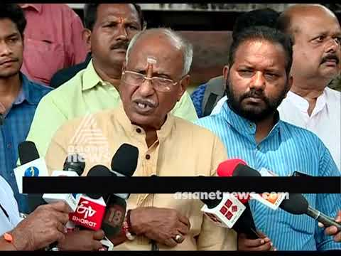 Protests against police stations on Sabarimala issues