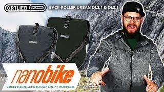 Ortlieb Back-Roller Urban QL2.1& QL3.1 wasserdichte Fahrradtasche | Review (German)