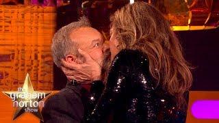Allison Janney Demonstrates Meryl Streep's Secret Kissing Technique   The Graham Norton Show