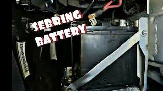 Chrysler sebring no crank no start most popular videos how to replace battery in chrysler sebring fandeluxe Images
