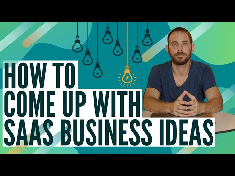 , title : 'SaaS Business Ideas: How To Come Up With A SaaS Business Idea In 2021