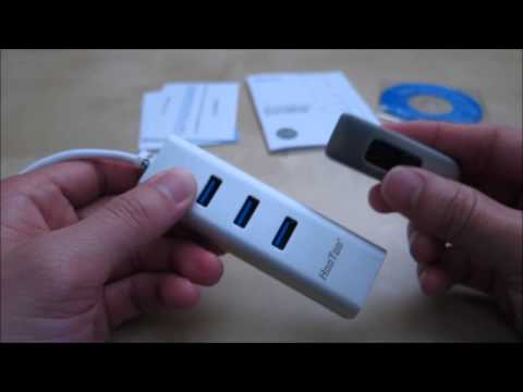 Hootoo 3-port USB 3.0 Hub and Gigabit Ethernet Adapter Review