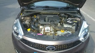 TATA Tiago engine oil and filter replace engine oil capacity filter location