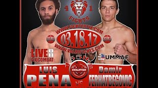 Valor Fights 41 Pre-Fight Interview with Damir Ferhatbegovic