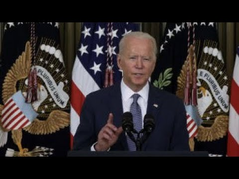 , title : 'Biden's executive order aims to increase competition; China's  tech giants face regulatory pressure