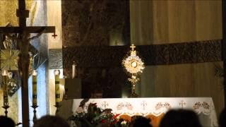 Modlitwa uwielbienia w parafii Ducha Świetego w Kielcach