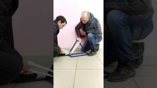 видео товара Установка для намотки пожарных рукавов РНУ-02