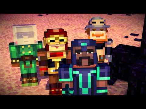 Minecraft: Story Mode Episode 2 - Assembly Required trailer thumbnail