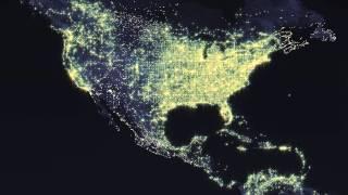 Earth night example