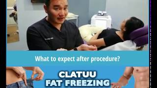 Post Procedure Care for Clatuu Fat Freezing