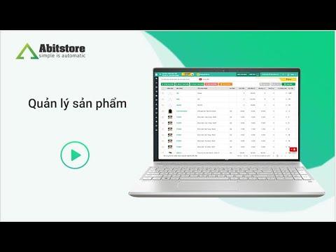 Quản lý sản phẩm với Abitstore