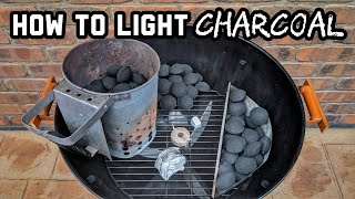 How to Light Charcoal for Beginners! (It's Easier Than You Think)