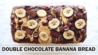 Double Chocolate Banana Bread Recipe | gluten free + one bowl