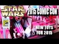 SDCC 2015: STAR WARS booth feat. BLACK EDITION TIE-FIGHTERS & First Order Stormtroopers