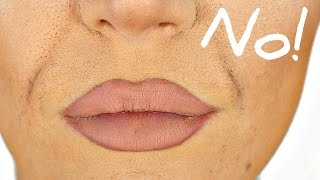 How to Stop Foundation Creasing in Smile Lines - EASY TRICK!