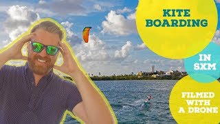 Kiteboarding in St Martin