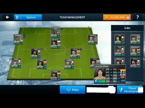 Hack Đội Hình Huyền Thoại Dream League Soccer 2018- Pele,beckham,....