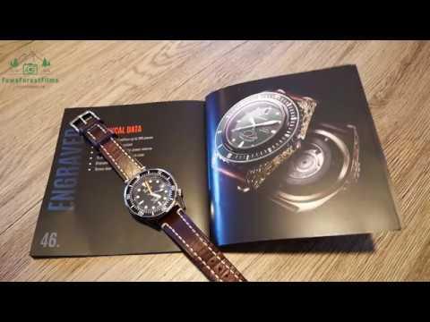 Squale Engraved Master Bronze traumhafte Schönheit Luxus Taucheruhr (Katalog) Uhren Clock Watch