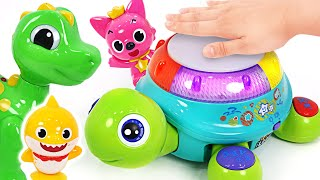 Baby Shark and Pinkfong! Dance, sing and play with the musical turtle