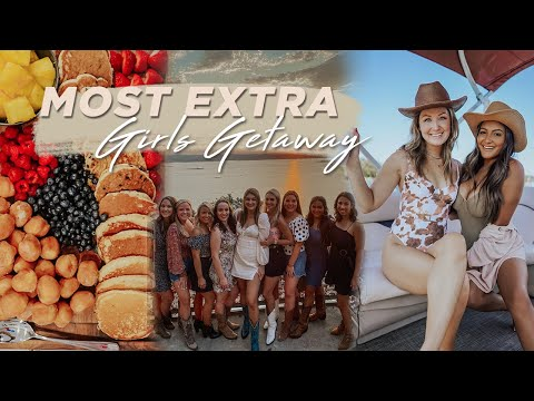 Most Extra Girls Weekend on Lake Travis | Boat Day & Private Chef