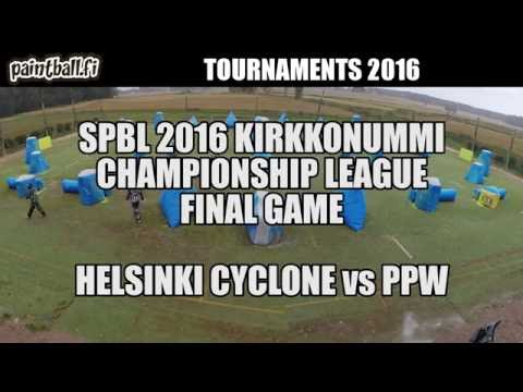 Helsinki Cyclone vs PPW - Final Game - SPBL2016 Kirkkonummi