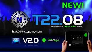 Topp Pro T2208 Digital Mixer