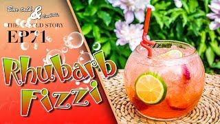 Rhubarb Fizzi
