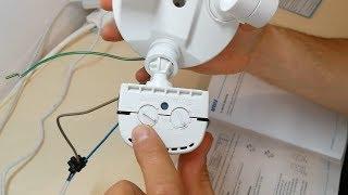 18W LED Strahler/Bewegungsmelder | Kaltweiß IP65 | Beweglich | Sensor | 5000k / 2700Lumen