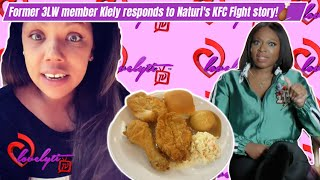 Former 3LW member Kiely Williams responds to Naturi Naughton's  KFC Fight story