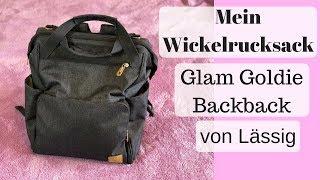 Lässig Wickelrucksack Glam Goldie I Was ist in meinem Wickelrucksack - Wickeltasche I AllesClärchen