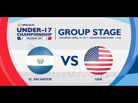 CU17PAN: El Salvador vs United States