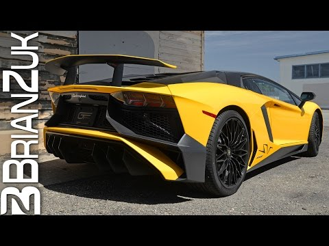 Lamborghini Aventador LP750-4 SV with iPE Exhaust Revving