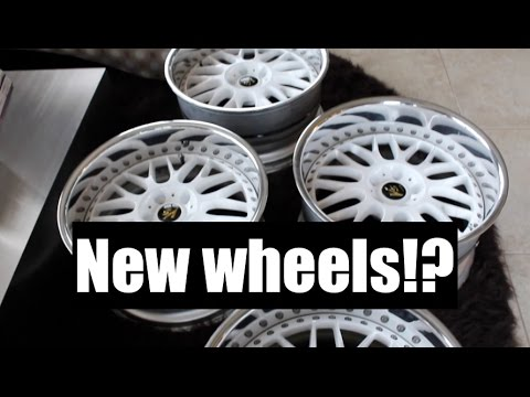 NEW WHEELS FOR THE 370z
