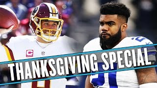 NFL Thanksgiving preview: Lions, Cowboys, and ... Scott Tolzien? Oh my. | Uffsides thumbnail