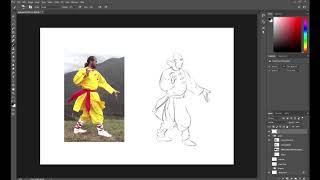 10/14 The Dragon — Illustration: Design Kung Fu Poses_ENG