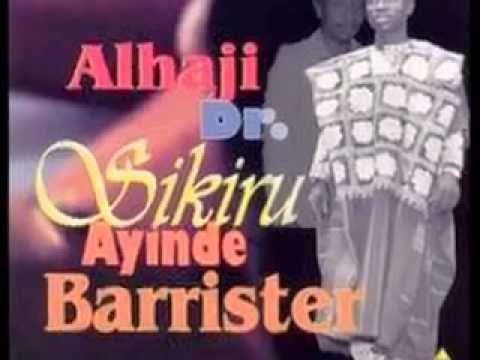 Alhaji Dr Sikiru Ayinde Barrister - Olympic '96 - Side A