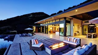 Sublime One-Of-A-Kind Luxury Residence in Napa Valley, CA, USA (by John Maniscalco Architecture)