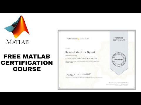 MATLAB certification course free With Proof | Coursera Free Paid ...