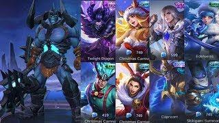 ALL NEW SKINS + HERO REWORK | Mobile Legends