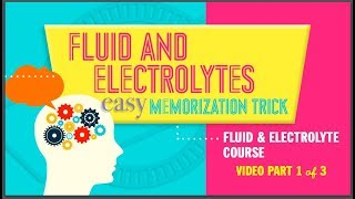 New Fluid & Electrolytes Easy Memorization Trick Part 1 Of 3 NCLEX RN Or LPN Simplenursing