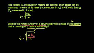 Radical Equation Application Problem