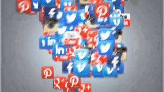 Dynamisches Social Video Vertex Outro 3D Animation inkl. Name und URL