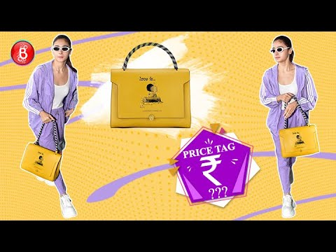 Alia Bhatt's Expensive Bag Has A Cute Ranbir Kapoor Connection