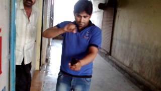 Deaf n  speechless man talking on 3g video call