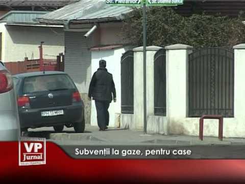 Subvenţii la gaze, pentru case