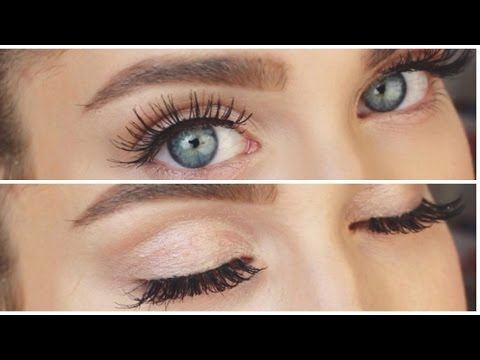 HOW TO: WIMPERN KLEBEN! ♡ | BELLA
